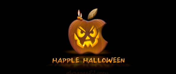 Design - happle halloween small