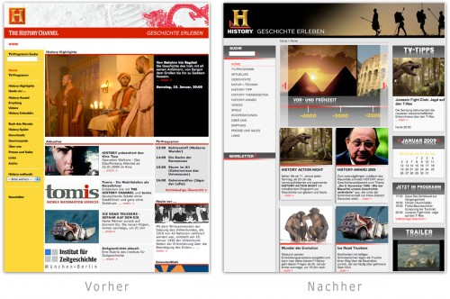 Design - Neues History Design