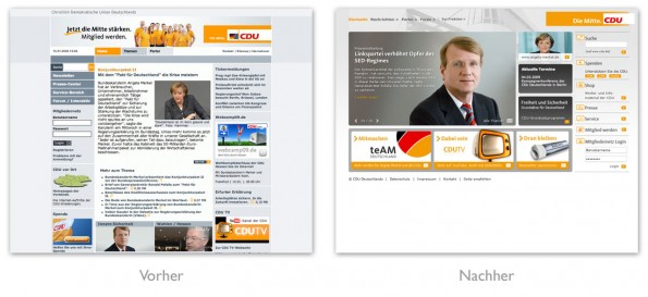 Design - CDU Relaunch