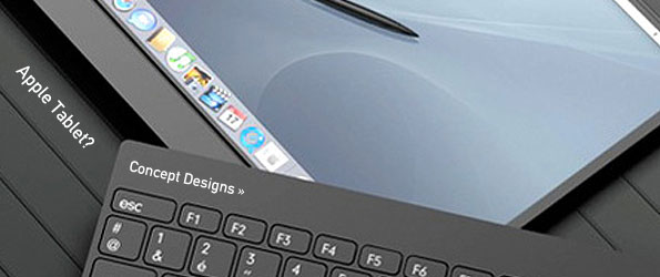 Design - Apple Tablet Concept Design