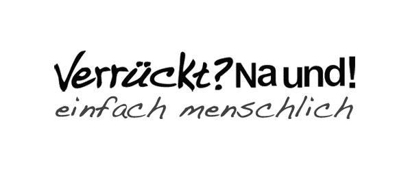 Verrückt na und neues logo